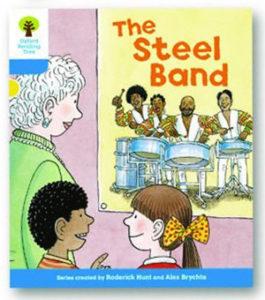 オックスフォードリーディングツリー ORT レベル3 ステージ3 stage3 First Sentences The Steel Band 表紙
