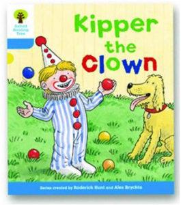 オックスフォードリーディングツリー ORT レベル3 ステージ3 stage3 More Stories A Kipper the Clown 表紙