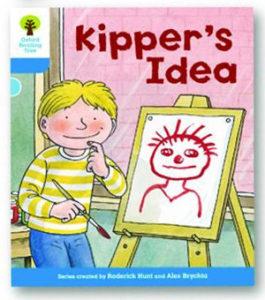 オックスフォードリーディングツリー ORT レベル3 ステージ3 stage3 More Stories A Kipper's Idea 表紙