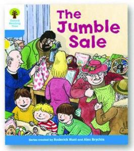 オックスフォードリーディングツリー ORT レベル3 ステージ3 stage3 More Stories A The Jumble Sale 表紙