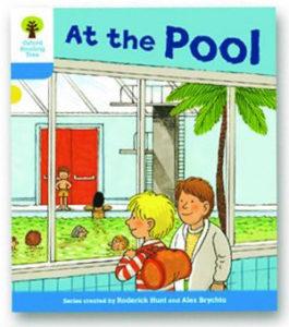 オックスフォードリーディングツリー ORT レベル3 ステージ3 stage3 More Stories B At the Pool 表紙