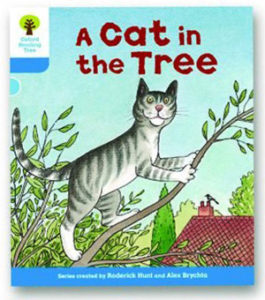 オックスフォードリーディングツリー ORT レベル3 ステージ3 stage3 Stories A Cat in the Tree 表紙