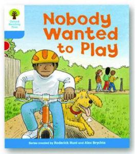 オックスフォードリーディングツリー ORT レベル3 ステージ3 stage3 Stories Nobody Wanted to Play 表紙