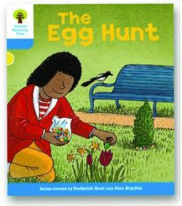 オックスフォードリーディングツリー ORT レベル3 ステージ3 stage3 Stories The Egg Hunt 表紙