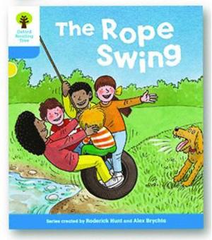 オックスフォードリーディングツリー ORT レベル3 ステージ3 stage3 Stories The Rope Swing 表紙