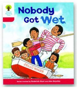 オックスフォードリーディングツリー ORT レベル4 ステージ4 stage4 More Stories A Nobody Got Wet 表紙