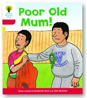 オックスフォードリーディングツリー ORT レベル4 ステージ4 stage4 More Stories A Poor Old Mum! 表紙