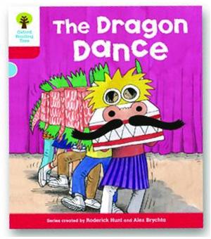 オックスフォードリーディングツリー ORT レベル4 ステージ4 stage4 More Stories B The Dragon Dance 表紙