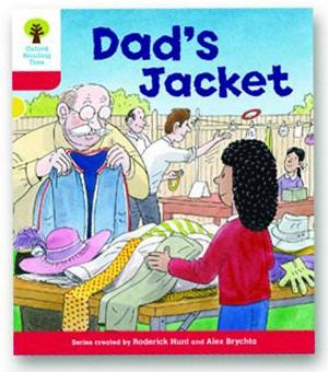 オックスフォードリーディングツリー ORT レベル4 ステージ4 stage4 More Stories C Dad's Jacket 表紙