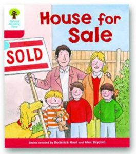 オックスフォードリーディングツリー ORT レベル4 ステージ4 stage4 Stories House for Sale 表紙