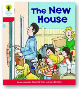 オックスフォードリーディングツリー ORT レベル4 ステージ4 stage4 Stories The New House 表紙