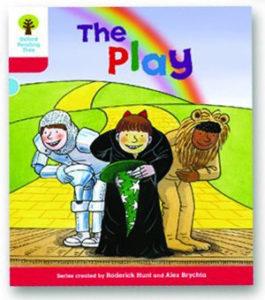 オックスフォードリーディングツリー ORT レベル4 ステージ4 stage4 Stories The Play 表紙
