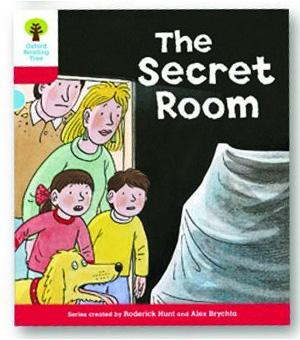 オックスフォードリーディングツリー ORT レベル4 ステージ4 stage4 Stories The Secret Room 表紙