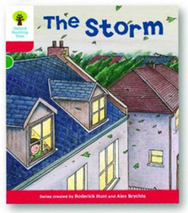オックスフォードリーディングツリー ORT レベル4 ステージ4 stage4 Stories The Storm 表紙