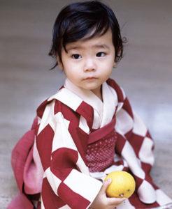内田伽羅さんの1歳2ヶ月の頃