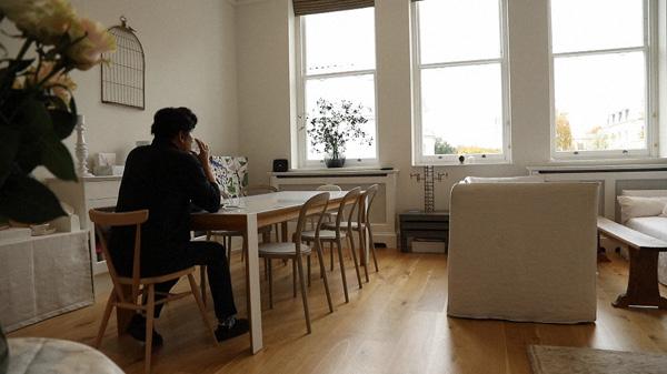 本木雅弘さんのロンドンの家