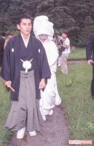 本木雅弘さんと内田也哉子さんの結婚式