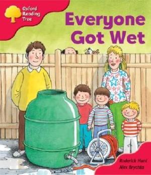 オックスフォードリーディングツリー ORT レベル4 ステージ4 stage4 More Stories B Everyone Got Wet 表紙