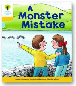 オックスフォードリーディングツリー ORT レベル5 ステージ5 stage5 More Stories A A Monster Mistake 表紙