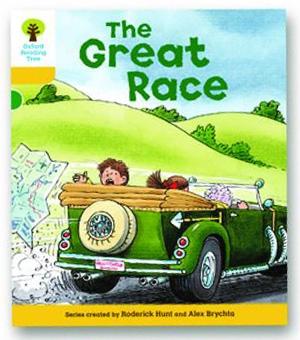 オックスフォードリーディングツリー ORT レベル5 ステージ5 stage5 More Stories A The Great Race 表紙