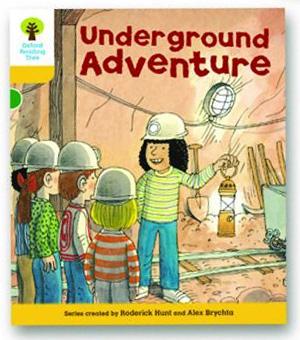 オックスフォードリーディングツリー ORT レベル5 ステージ5 stage5 More Stories A Underground Adventure 表紙