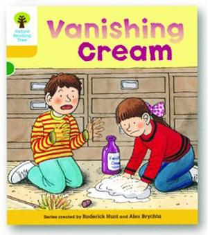 オックスフォードリーディングツリー ORT レベル5 ステージ5 stage5 More Stories A Vanishing Cream 表紙