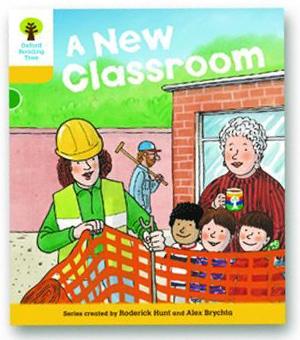 オックスフォードリーディングツリー ORT レベル5 ステージ5 stage5 More Stories B A New Classroom 表紙