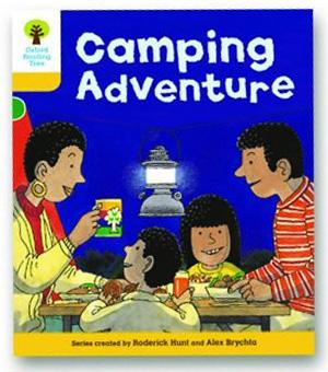 オックスフォードリーディングツリー ORT レベル5 ステージ5 stage5 More Stories B Camping Adventure 表紙
