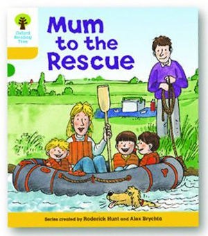 オックスフォードリーディングツリー ORT レベル5 ステージ5 stage5 More Stories B Mum to the Rescue 表紙