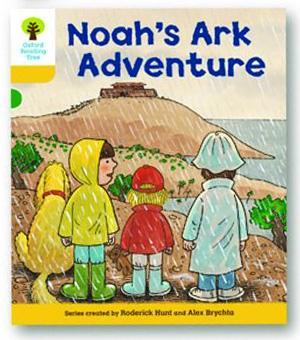 オックスフォードリーディングツリー ORT レベル5 ステージ5 stage5 More Stories B Noah's Ark Adventure 表紙