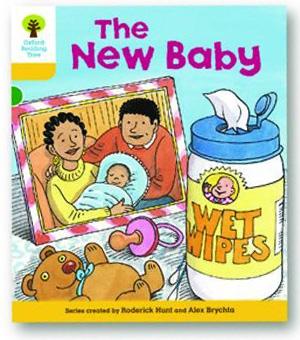 オックスフォードリーディングツリー ORT レベル5 ステージ5 stage5 More Stories B The New Baby 表紙