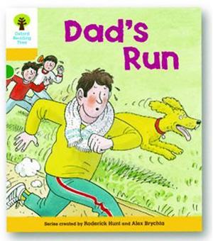 オックスフォードリーディングツリー ORT レベル5 ステージ5 stage5 More Stories C Dad's Run 表紙