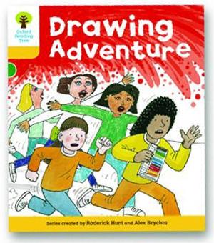 オックスフォードリーディングツリー ORT レベル5 ステージ5 stage5 More Stories C Drawing Adventure 表紙