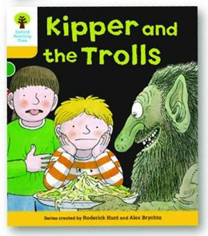 オックスフォードリーディングツリー ORT レベル5 ステージ5 stage5 More Stories C Kipper and the Trolls 表紙