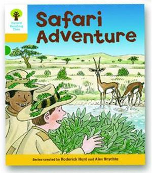 オックスフォードリーディングツリー ORT レベル5 ステージ5 stage5 More Stories C Safari Adventure 表紙