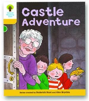 オックスフォードリーディングツリー ORT レベル5 ステージ5 stage5 Stories Castle Adventure 表紙