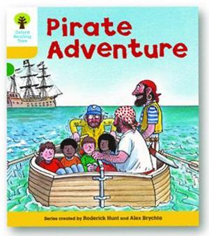 オックスフォードリーディングツリー ORT レベル5 ステージ5 stage5 Stories Pirate Adventure 表紙