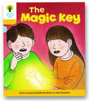 オックスフォードリーディングツリー ORT レベル5 ステージ5 stage5 Stories The Magic Key 表紙