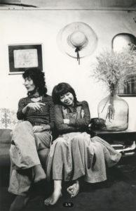 若い頃の内田裕也さんと樹木希林さん
