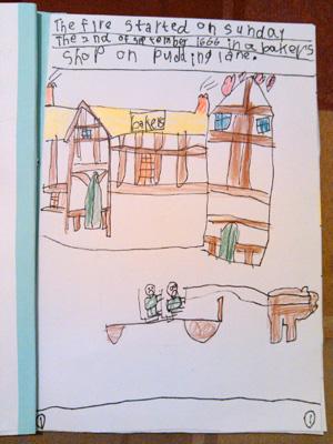 子どものテーマ学習の宿題