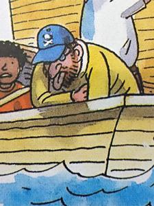 船酔いする海賊