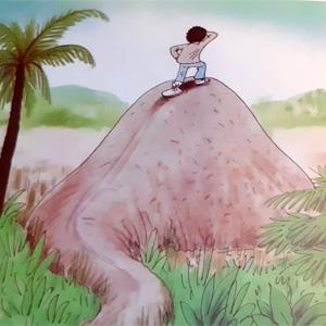恐竜の国の丘