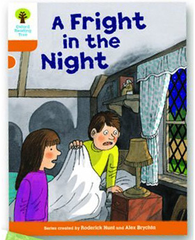 オックスフォードリーディングツリー ORT レベル6 ステージ6 stage6 More Stories A A Fright in the Night 表紙