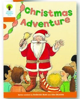 オックスフォードリーディングツリー ORT レベル6 ステージ6 stage6 More Stories A Christmas Adventure 表紙