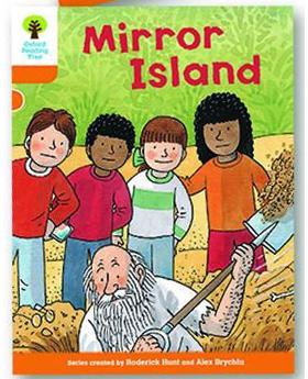 オックスフォードリーディングツリー ORT レベル6 ステージ6 stage6 More Stories A Mirror Island 表紙