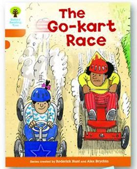 オックスフォードリーディングツリー ORT レベル6 ステージ6 stage6 More Stories A The Go-kart Race 表紙