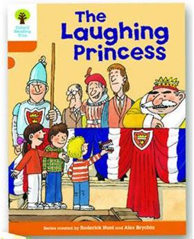 オックスフォードリーディングツリー ORT レベル6 ステージ6 stage6 More Stories A The Laughing Princess 表紙