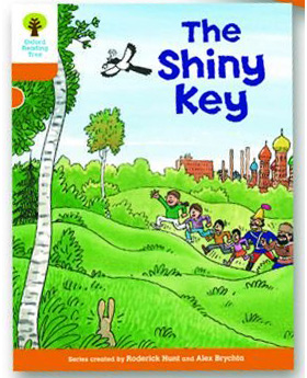 オックスフォードリーディングツリー ORT レベル6 ステージ6 stage6 More Stories A The Shiny Key 表紙
