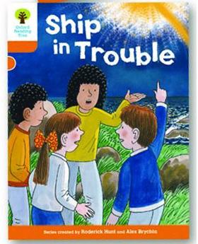 オックスフォードリーディングツリー ORT レベル6 ステージ6 stage6 More Stories B A Ship in Trouble 表紙