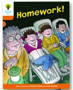 オックスフォードリーディングツリー ORT レベル6 ステージ6 stage6 More Stories B Homework! 表紙